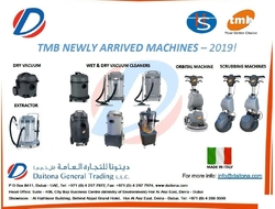 Tmb New Range of Cleaning Machines Supplier In GCC