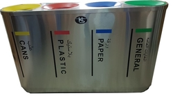 4 Compartment Recycle Bins Suppliers In Gcc