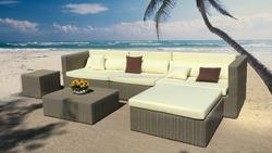 Wicker sofa set - PRSF-049