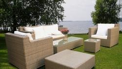 PE rattan sofa set _PRSF-051