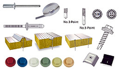 Roof Cladding Accessories from TAJ INTERNATIONAL PROFILE FZC