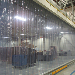 PVC Strip installation companies in Qatar from AERODYNAMIC TRADING CONTRACTING & SERVICES , QATAR / TELE : 33190803 / SARATH@AERODYNAMIC.QA