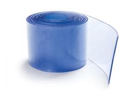 Transparent Blue PVC Strip Rolls in Qatar from MINA TRADING & CONTRACTING , QATAR