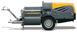 Diesel engine Fire Proofing Spraying Machine
