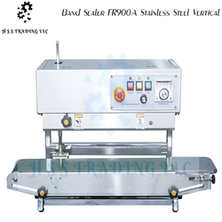 Band Sealer FR900A Stainless Steel Vertical from H S S TRADING LLC