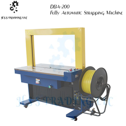 DBA-200 Fully Automatic Strapping Machine from H S S TRADING LLC