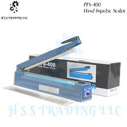PFS-400 Hand Impulse Sealer from H S S TRADING LLC
