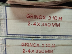 310 H WELDING ELECTRODES  from SHANTI METAL SUPPLY CORPORATION