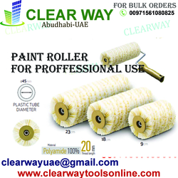 PAINT ROLLER FOR PROFFESSIONAL USAGE DEALER IN MUSSAFAH , ABUDHABI , UAE