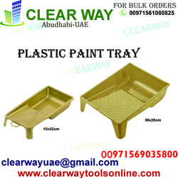 PLASTIC PAINT TRAY DEALER IN MUSSAFAH , ABUDHABI ,UAE from CLEAR WAY BUILDING MATERIALS TRADING