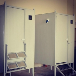 PREFABRICATED TOILETS from ECO PLANET LLC