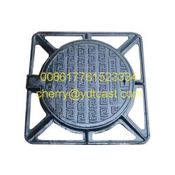Iron/Ductile Iron Full Floor (Square) Iron Manhole Cover