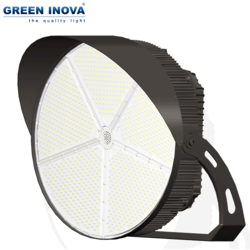 outdoor Zigbee controled ENEC IECEE CE CB approved stadium led 1000w led stadium lighting