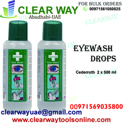 CEDERROTH EYE WASH DEALER IN MUSSAFAH , ABUDHABI ,UAE from CLEAR WAY BUILDING MATERIALS TRADING