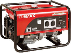 ELEMAX HONDA GENERATOR SH6500 PETROL  5.8KVA  from ADEX INTERNATIONAL