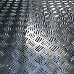 ALUMINIUM CHEQUERED SHEETS from METAL VISION