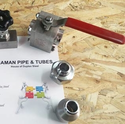 Duplex Steel Ball Valves from NAMAN PIPE & TUBES