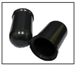 Plastic Anchor bolt cap from AL BARSHAA PLASTIC PRODUCT COMPANY LLC