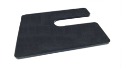 Plastic U shim pad in UAE from AL BARSHAA PLASTIC PRODUCT COMPANY LLC
