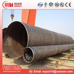 SSAW Steel Pipe Pilling Pipe Structural Steel Pipe Line Pipe