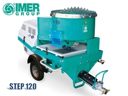 IMER STEP 120 Plastering Machine - The screw pump for the professional plasterers with conventional mortar and premixed materials