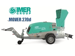IMER MOVER 270d EVO - Pneumatic conveyor for conventional and premixed floor screeds and Sand Transfer from ELMEC EQUIPMENT TRADING LLC