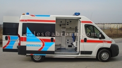 new ambulances in dubai