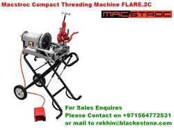 "1 Macstroc Flare.2C pipe threading machine up to 2"" BSPT Machine"