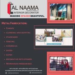 FITOUT WORKS from AL NAAMA INTERIORS