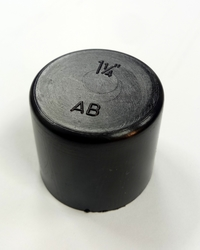 bpt 1 1/4 inch Plastic Bolt End Cap Protection in Dubai from AL BARSHAA PLASTIC PRODUCT COMPANY LLC