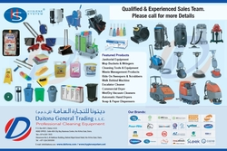 Professional Cleaning Equipment Suppliers In Dubai