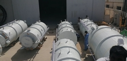 GRP CHEMICAL TANKS from GLOBAL COMPOSITES TECHNOLOGIES WLL