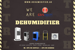 PORTABLE DEHUMIDIFIER from CONTROL TECHNOLOGIES