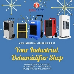 Industrial Dehumidifier. Commercial dehumidifier. Heavy duty dehumidifier. Industrial dehumidification. Marine Dehumidifier from CONTROL TECHNOLOGIES