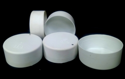"bpt 3"" White Plastic Pipe End Cap in Sharjah from AL BARSHAA PLASTIC PRODUCT COMPANY LLC"