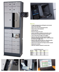 Guest Lockers with Bio-metrics supplier in UAE