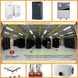 Server Room & Datacentre (Data center) construction Turnkey Solution provider. from CONTROL TECHNOLOGIES