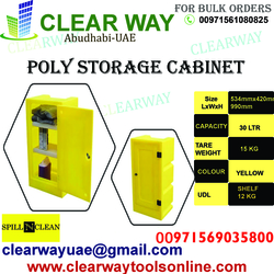 POLY STORAGE CABINET DEALER IN MUSSAFAH , ABUDHABI ,UAE from CLEAR WAY BUILDING MATERIALS TRADING
