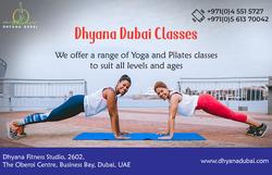 YOGA INSTRUCTION from DHAYA DUBAI