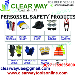 PERSONNEL SAFETY PRODUCTS DEALER IN MUSSAFAFH , ABUDHABI, UAE