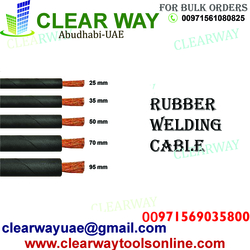 RUBBER WELDING CABLE DEALER IN MUSSAFAH , ABUDHABI ,UAE from CLEAR WAY BUILDING MATERIALS TRADING