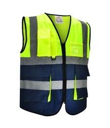 Dual Color Safety Vest - Dazzle from SAMS GENERAL TRADING LLC