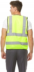 Empiral Bright Safety Vest from SAMS GENERAL TRADING LLC