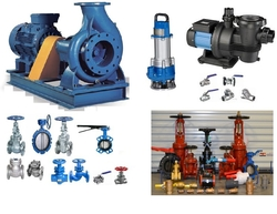 PUMPS & VALVES - MEP OIL AND GAS and OTHER INDUSTRIAL from SPARETEX INTERNATIONAL FZE