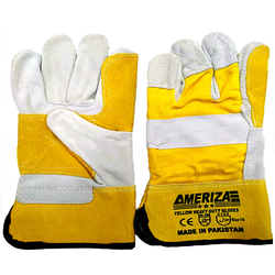 Ameriza Double Plan Leather Gloves