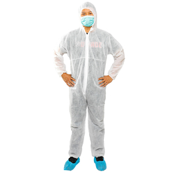 Empiral Disposable Coverall PP Non Woven 40 GSM from SAMS GENERAL TRADING LLC