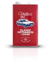 MILLERS - Classic Pistoneeze 15w40 UAE from MILLTECH FZE