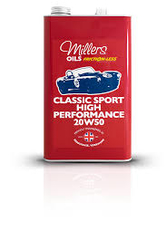 MILLERS -Classic Sport High Performance 20w50-UAE from MILLTECH FZE