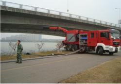 FIRE BRIGADE WITH DREDGE PUMP SYSTEM