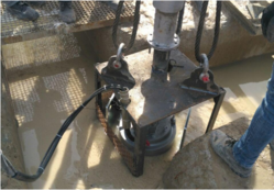 PUMP FOR MUDDY WATER